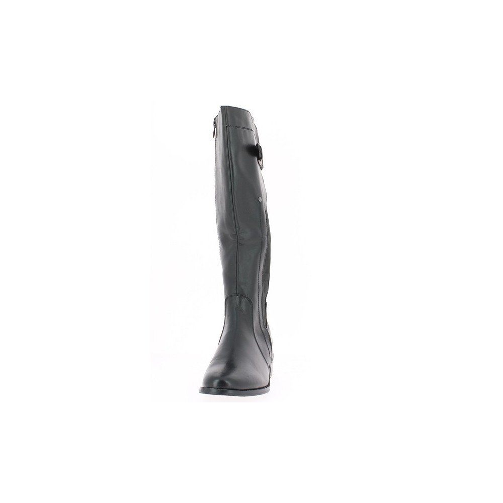 2e287370292 Chaussmoi - Bottes Femme talon De 3 cm - Couleur   Noir - Taille   41   Amazon.fr  Chaussures et Sacs