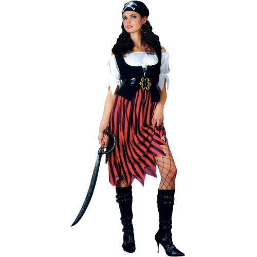 Pirate Lady Womens Fancy Dress Costume Large  Amazon.co.uk  Toys   Games e0bfee70a