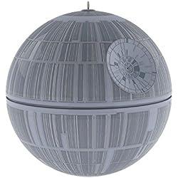 "Hallmark Keepsake 2017 - Star Wars Death Star Ornament with Sound and Light 3.9"""