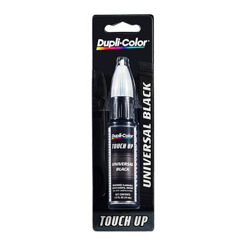 Dupli-Color EBUNX9117 12 Pack Touch-Up Spray Paint (BUNX911 Universal Black 0.5 oz)