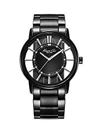Kenneth Cole New York Men's KC3994 Transparency Classic See-Thru Dial Round Case Watch