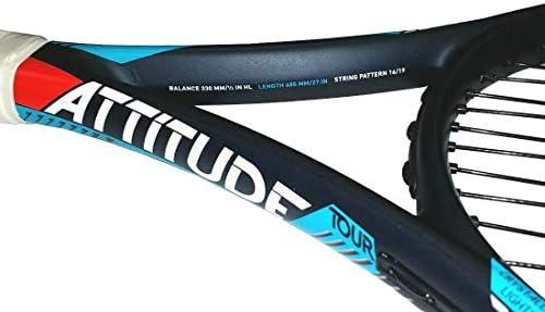 HEAD MX Attitude Tour Graphite Tennis Racquet Pre-Strung