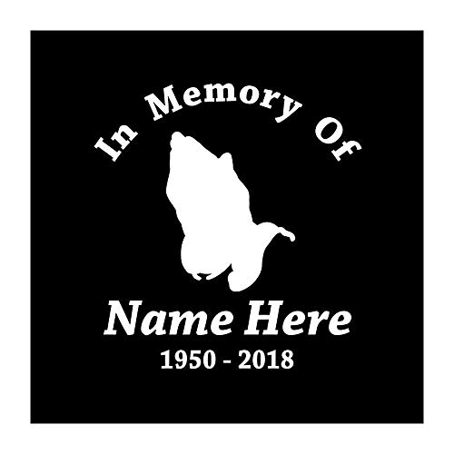 Express Design Group Personalized in Memory of with Praying Hands Decal 6 (Praying Hands Designs)