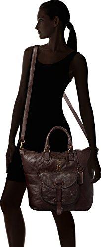 x Td0063db 9x36x41 H Mujer Taschendieb Dunkelbraun mochila Braun T Bolsos B cm zYwxqAdp