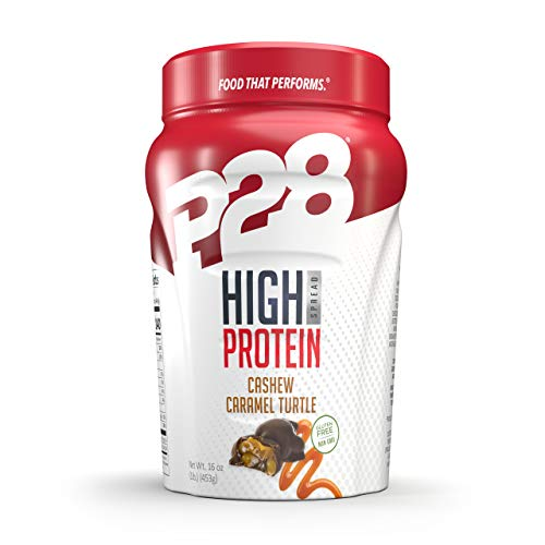P28 Foods Formulated High Protein Spread, Caramel Turtle, 16 Ounce