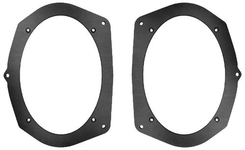1994-1997 Honda Accord 6x9 Rear Deck Speaker Adapter Spacer Rings - SAK030_69-1 Pair