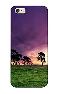 New Arrival Purple Sunrise For Iphone 6 Plus Case Cover Pattern For Gifts