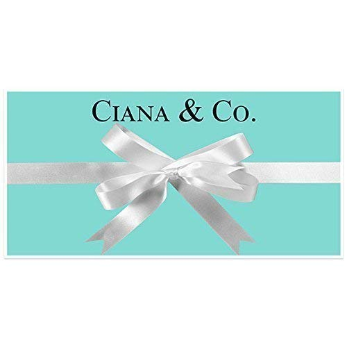 Light Blue with Bow Birthday Banner Personalized Custom Party Backdrop ()