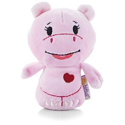 Hallmark Itty Bittys Limited Edition Valentines Hug-lovin Hippo