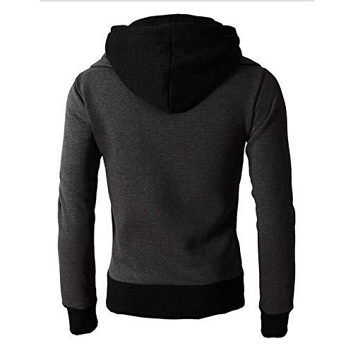 Pius Size Jackets for Men, Corriee Casual Long Sleeve Hooded Outwear Autumn Winter Thick Warm Zipper Cardigan Tops