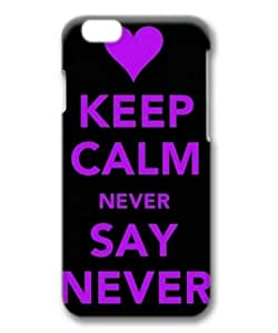 Armener Hard Protective 3D Iphone6 (4.7 inch) Case With Keep Calm and Never Say Never