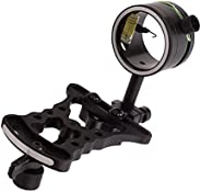Micro-Adjust Single Pin Bow Sight Ultralight Hunting Slider Archery Compound Bow Sight with Sight Light Access