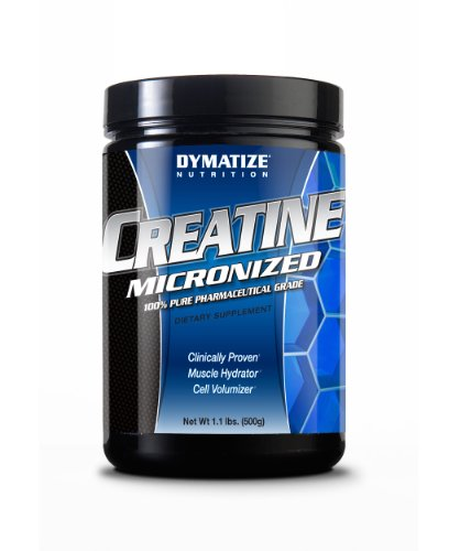 Dymatize 100% Pure Pharmaceutical Grade Creatine, 1.1 lbs