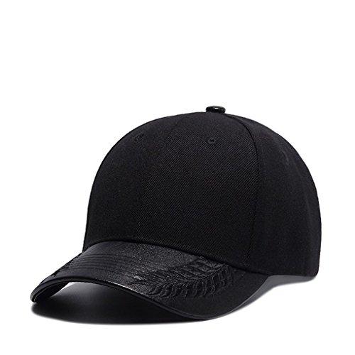 Béisbol Baseball Gorras Snapback Hombres Adulto De Unisex Cap para Sombreros Gorra Gorras Negro Ajustable Llxln Mujeres Sólido Casual HwAaSSq