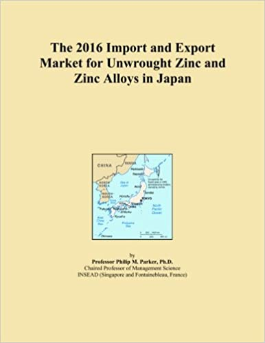 The 2016 Import and Export Market for Unwrought Zinc and Zinc Alloys in Japan