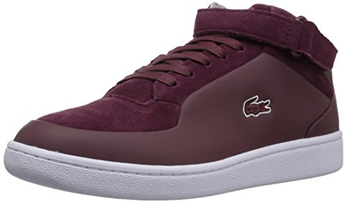 Lacoste Mens Turbo 417 5 Sneaker Burgundy