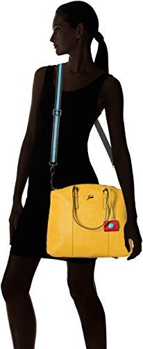 GABS - Amanda Tg M Black - Shopping Palmellato, Borsa Donna Giallo