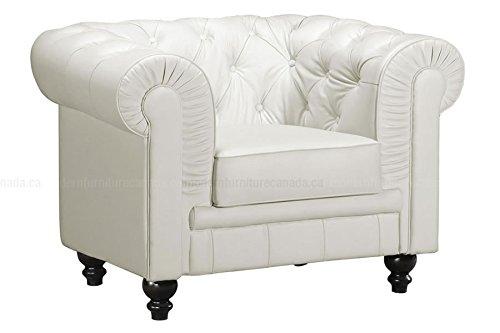 Zuo Aristocrat Arm Chair White White