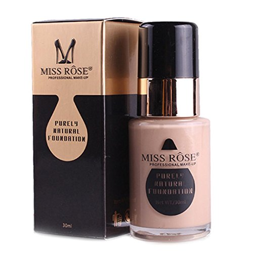 Freeheart Miss Rose Liguid Foundation Face Coverage Makup Base 1 fl.oz (C)