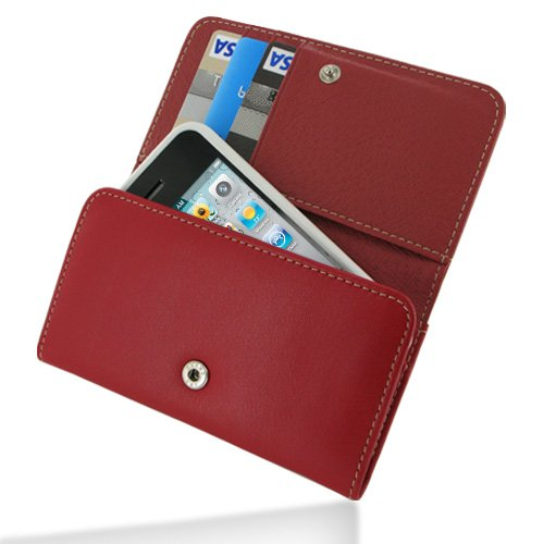 PDair Leather Wallet for iPhone 4 / 4S