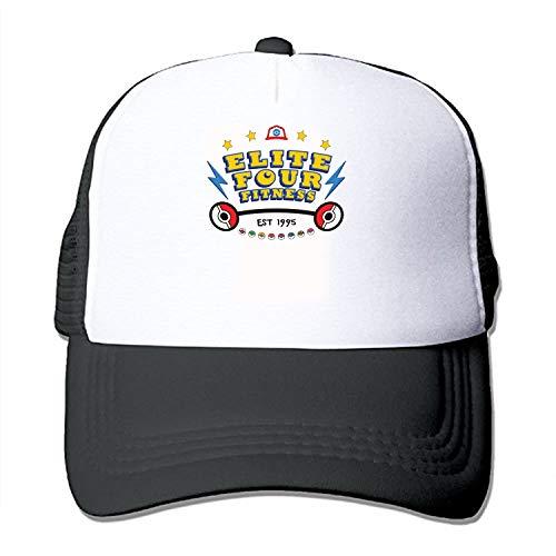 Foam Hat Mesh Elite - MANYOR 3D Printed Adjustable Baseball Cap,Sports Trucker Hat Mesh Cap Elite Four Fitness
