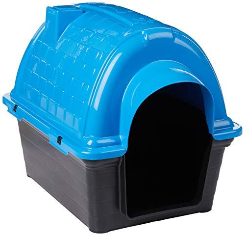 Casinha Plástica Furacão Pet Iglu N.3.0, Azul Furacão Pet para Cães