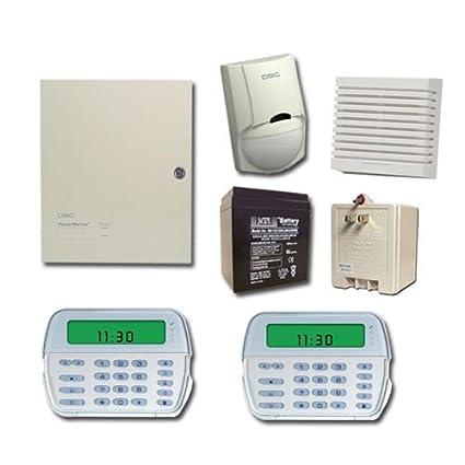 DSC TYCO Alarm System PC1832 with (1) RFK5500 and (1) PK5500 Keypad