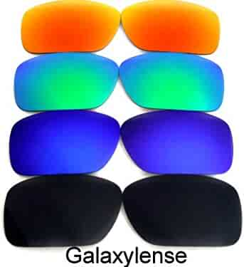 821bb25bfe7 Galaxy Replacement lenses For Oakley Fuel Cell Polarized  Black Blue Green Red
