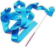 Ribbon Dancer Wand Rhythmic Gymnastics Dance Accessories Dancing Streamers on Stick for Kids