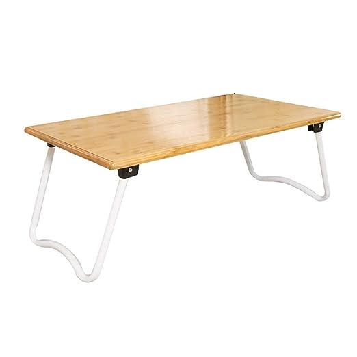 ACZZ Mesa de cama ergonómica para computadora portátil, mesa de ...