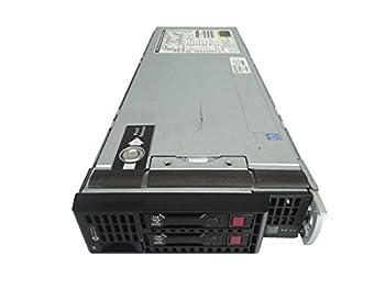 HP ProLiant BL460c G8 2-Bay SFF Blade Server, 2X Intel Xeon E5-2603 1.8GHz 4C, 32GB DDR3, 2X Trays Included, Onboard RAID (Certified Refurbished)