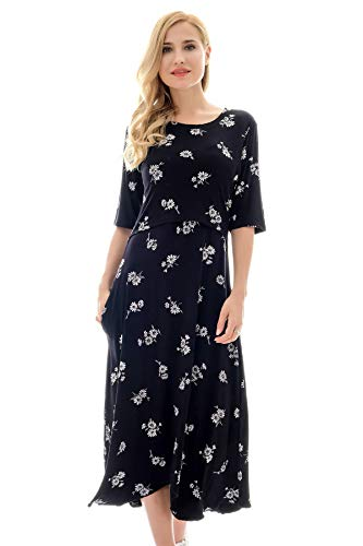 Bearsland Women's Maternity Nursing Dress 1/2 Sleeves for sale  Delivered anywhere in USA