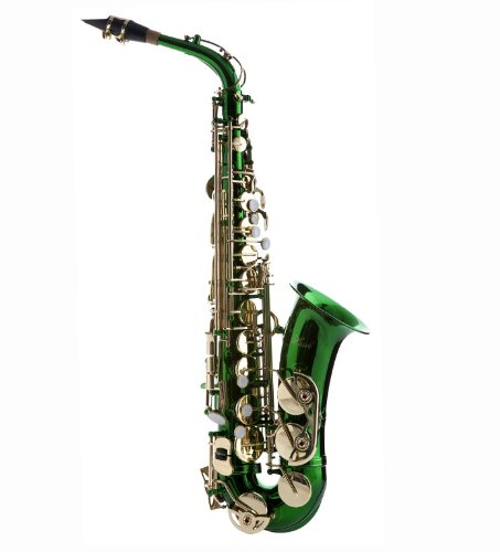 Hawk WD-S416-GR Student Alto Saxophone with Case ...