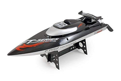 FT012 Professional 2.4G Wireless 4CH Remote Control Speedboat Brushless RC Racing Boat High Speed 40-45KM/H Remote Control Model - Speed Boat Racing High