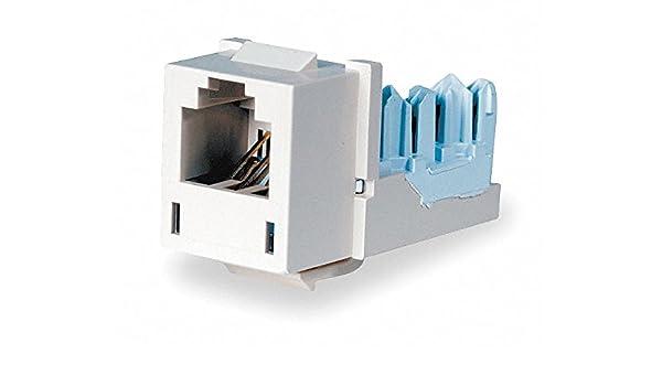 Astounding Hubbell Premise Wiring Modular Jack Telco Ivory Plastic Series Wiring Database Gramgelartorg