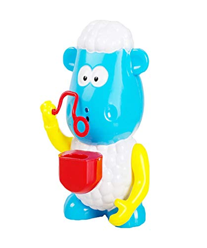 Vacally Baby Bath Bubble Machine Cute Sheep Automatic Blower Big Octopus Music Song Bubble MakerBlower Maker Party Summer Outdoor Toy Infant Baby Children Kids Happy Tub Time