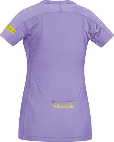GORE RUNNING WEAR - Femme - Maillot de course - manches courtes - confortable et fonctionnel - GORE Selected Fabrics - AIR LADY Shirt - Taille 36 - Violet - SAIRLD060007