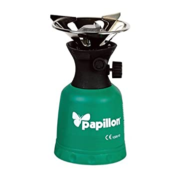 Estufa de gas portátil cocina portátil 1 acampar encendido manual: Amazon.es: Bricolaje y herramientas