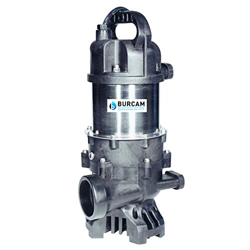 BURCAM 300910 1/2 HP Submersible Waterfall and Fountain Pump ()