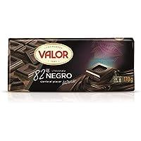 Chocolates Valor - Chocolate 82% Cacao, 170 gr