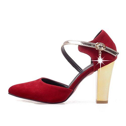 EU Femme Red 1TO9 36 Compensées Sandales Rouge 5 wRxSvCHq