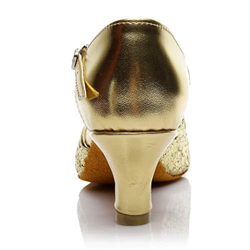 Été À Mode Casual Glisser 2019 Or Sandales Chaussures Plates Femme Couleur Verni D'été Unie De Coloré Surface Talons Simple Moika Cuir La CXwaYqw
