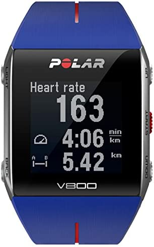 Polar V800 V800-Pulsómetro Unisex, Color Azul, Talla única: Amazon ...