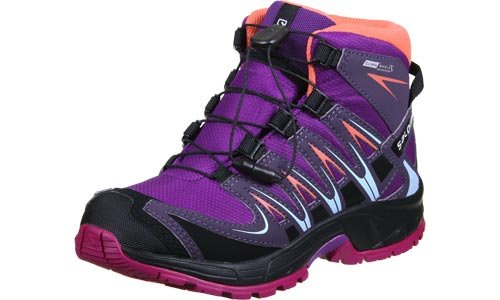 L39029500 Salomon Morado Grey Deep Nightshade Botas Senderismo Niños Purple De passion g4dwRq4
