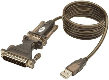 Type A DB-9 Male Tripp Lite U209-000-R USB 1.1 Serial Adapter