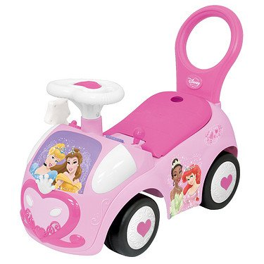 Kiddieland Disney Princess My First Activity Ride-on Push | 043935 (Princess Activity Ride On)