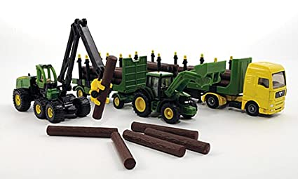 Amazon com: John Deere Forest-Set: Tractor with Forestry