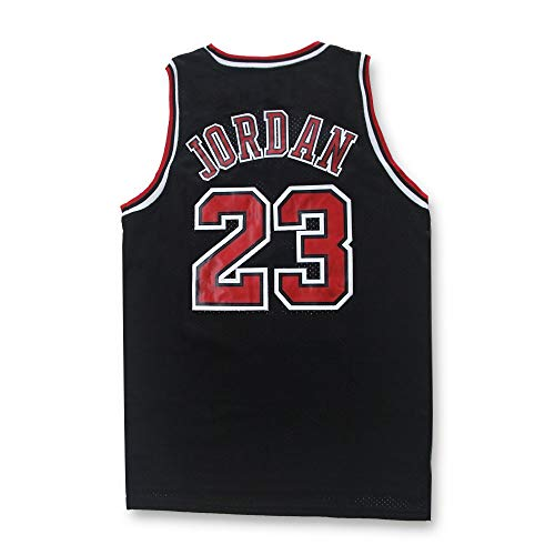 Jersey for Men Basketball Black M (Chicago Bulls Clothing)