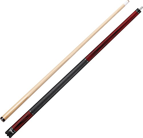 "Viper Elemental 58"" 2-Piece Billiard/Pool Cue, Ash with Cherry Stain, 21 Ounce"