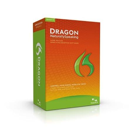 Dragon NaturallySpeaking Home 12.0, English